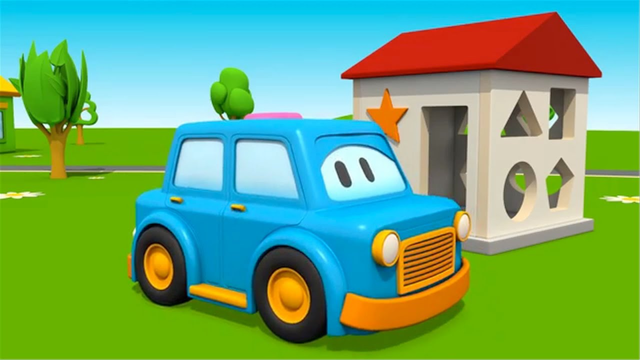 coches formas y colores carros para nios car cartoons for children youtube