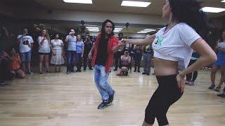 Mafie Zouker & Anna Vozhevskaia Brazilian Zouk Demo