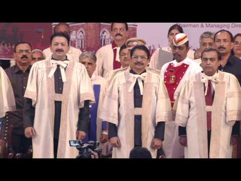160th Annual Convocation 2017 of The University of Mumbai