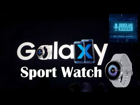 New Photos of the Samsung Galaxy Sport Smartwatch! - Jibber Jab Reviews!