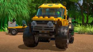 Jungle Halftrack Mission - LEGO City - 60159 - Product Animation