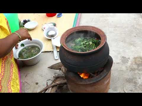 Nature Fresh  Brahmi (vallarai keerai) Recipe | Traditional Way Of Cooking | VILLAGE FOOD