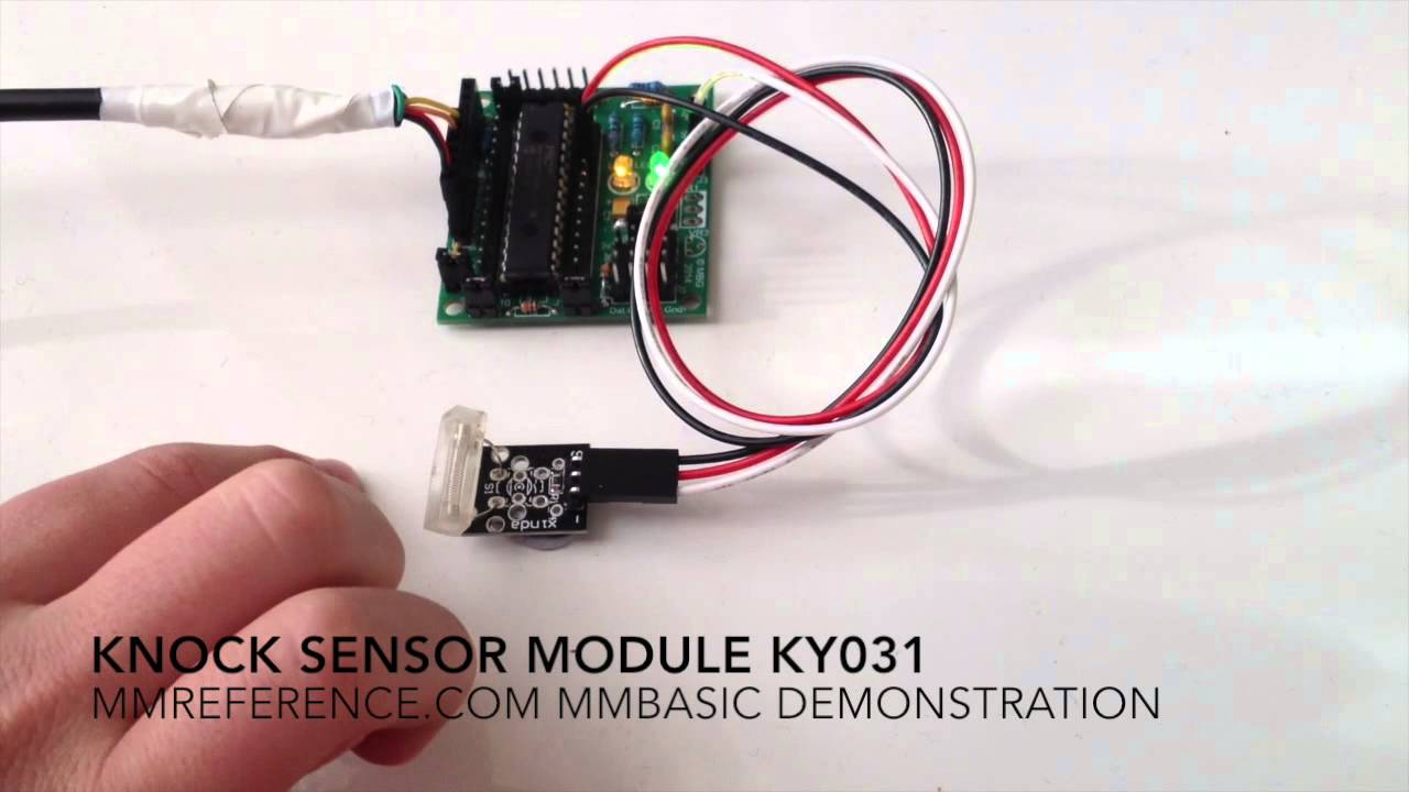 Knock Sensor Module Ky031 Youtube