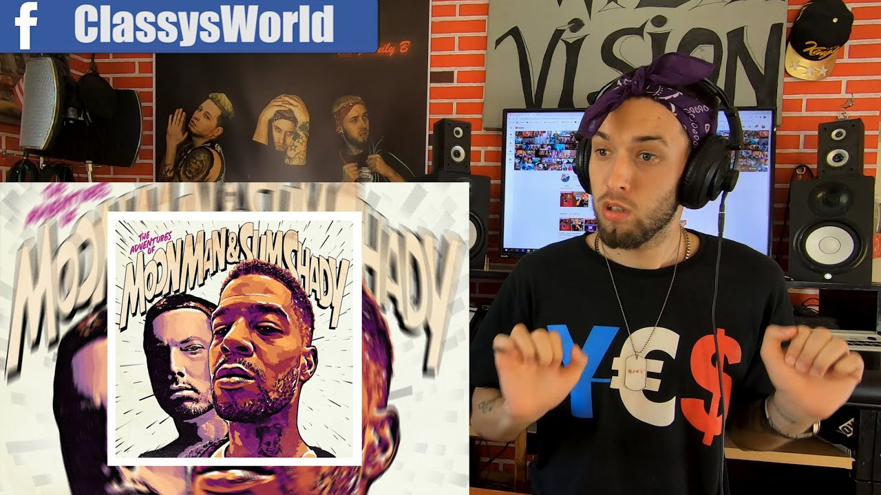 Kid Cudi - The Adventures Of Moon Man & Slim Shady ft. Eminem || Classy's Reaction