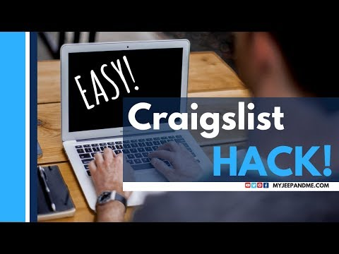 Search Craigslist Nationwide: A Free Google Users Hack!