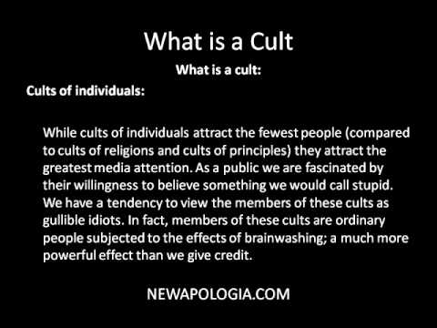 """brainwashing and cult like behaviors Just like former cult members, people who have suffered spiritual abuse often describe their experience in terms of """"psychological abuse"""" and """"spiritual trauma"""" abusive religion ken blue lists seven symptoms of abusive religion, based on the words of jesus in matthew 23 ."""