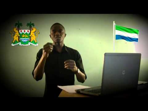 "SIERRA LEONEANS ""CONVINCED, NOT CONQUERED !""  PART 2 Israel Mansaray"