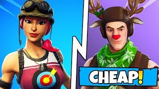 10 BEST CHEAP SKINS IN FORTNITE! (you NEED to buy these skins)