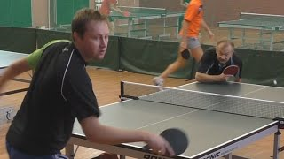 Евгений ПЕТРУХИН vs Владимир НЕМАШКАЛО, Турнир Master Open, Настольный теннис, Table Tennis