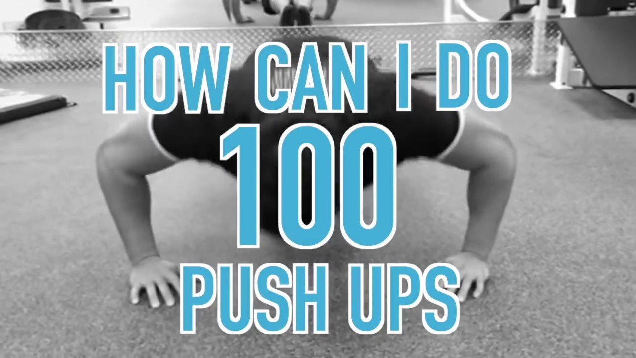 How To Do 100 Push Ups - 2 Tips for More Push-Ups