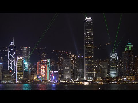 Sony A6300 - Hong Kong's A Symphony of Lights in 4K