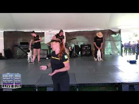 Entertainment On Stage At Ag Show, April 13 2019