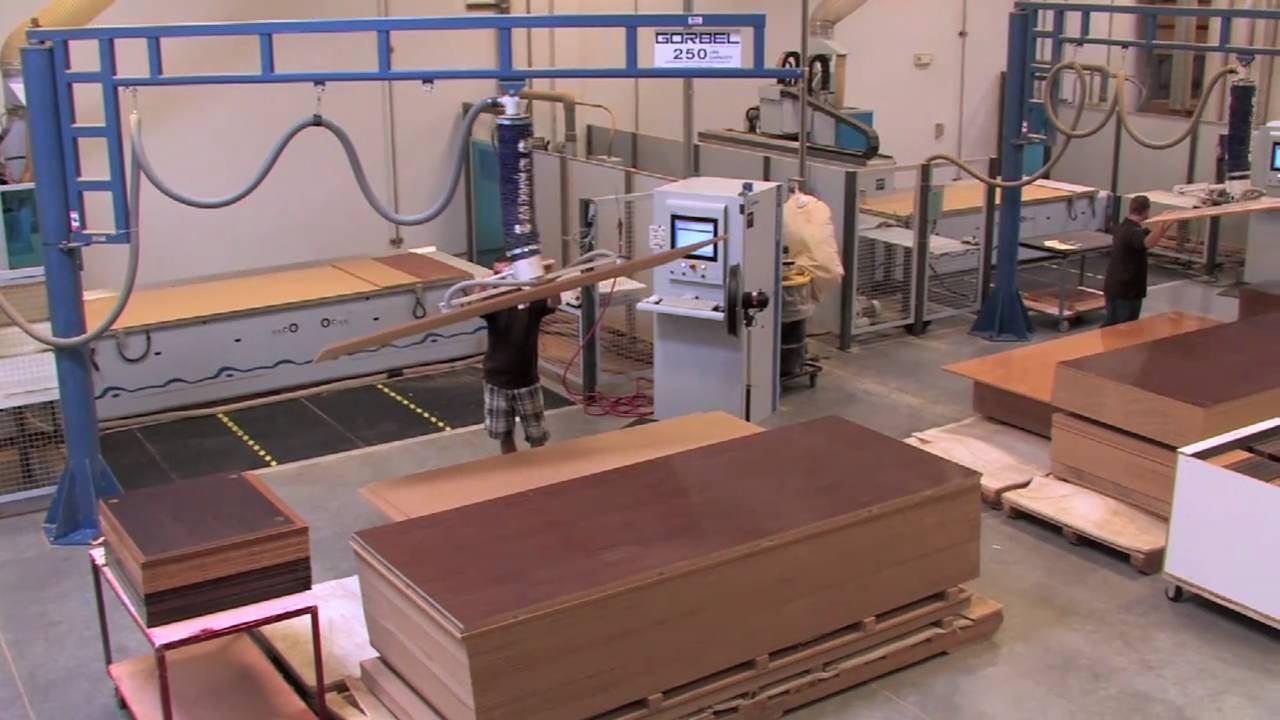 Koala sewing furniture factory tour youtube for Furniture companies