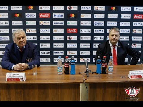 Пресс-конференция: Автомобилист - Кунлунь Ред Стар