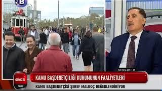 Kamu Başdenetçisi Şeref Malkoç, KANAL B'nin Canlı Yayın Konuğu Oldu