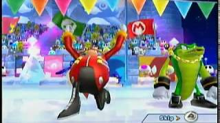 Mario & Sonic at the Olympic Winter Games Dream Curling Event