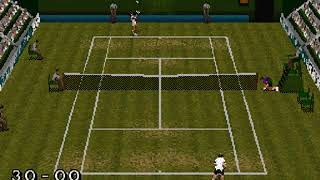 Break Point Tennis USA Japan SEGA SATURN HYPERSPIN NOT MINE VIDEOS