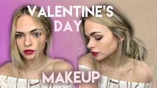 Drugstore Makeup Tutorial for Valentines Day | Summer Mckeen