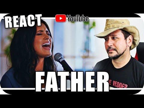 DEMI LOVATO - FATHER - Marcio Guerra Canto Reagindo Live Music React Reação