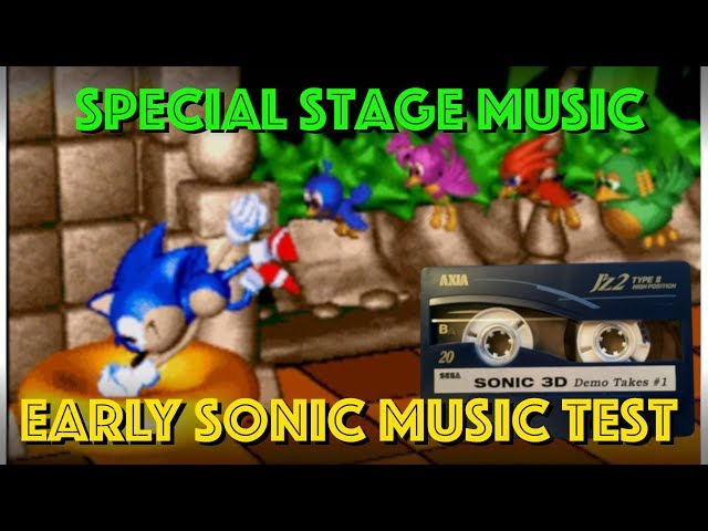 Revealed! - Amazing Unheard Sonic 3D Special Stage Music Demo