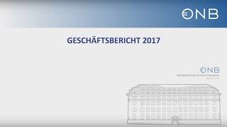 Claus J. Raidl Präsentiert Den OeNB Geschäftsbericht 2017