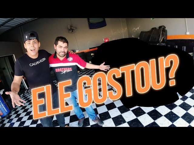 350z do Renato Garcia | Instalamos o body kit