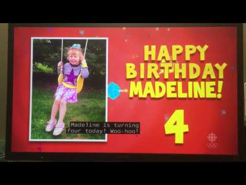 Muhammad Mustafa 4th Birthday on CBC Canada