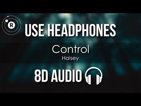 Halsey - Control (8D AUDIO)