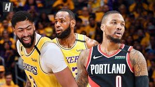 Los Angeles Lakers Vs Portland Trail Blazers - Full Game Highlights January 31, 2020 Nba Season