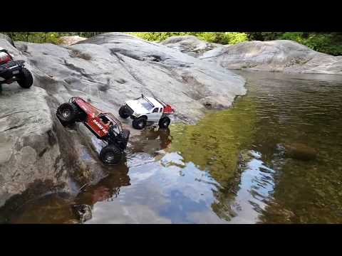 Jeep YJ River Rock Rc 4x4 Group Run