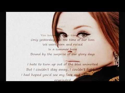 Someone Like You- Adele Karaoke LOWER PITCH!