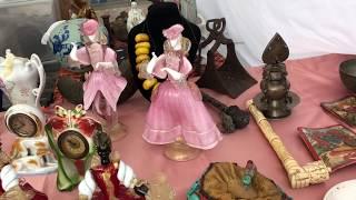 коллекционирование,Блошиный рынок,Барахолка,Антиквариат,Винтаж и мои покупки.Италия ноябрь 2018