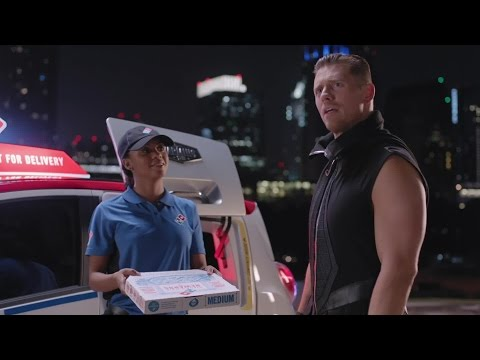 The Miz demands hot pizza from Domino