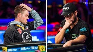 2018 WSOP Main Event: Miles vs Cada Hand Correct?