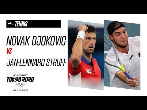Novak Djokovic vs Jan-Lennard-Struff | Tennis - Highlights | Olympic Games - Tokyo 2020