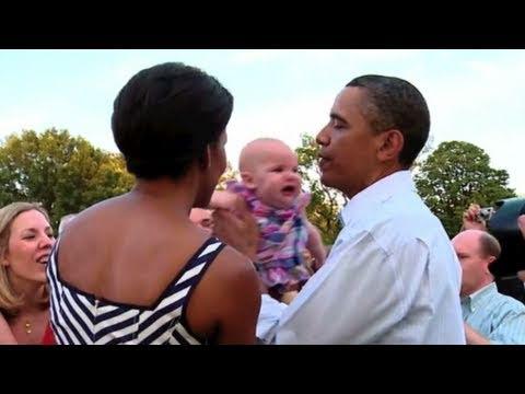 Obama Makes Ba Stop Crying
