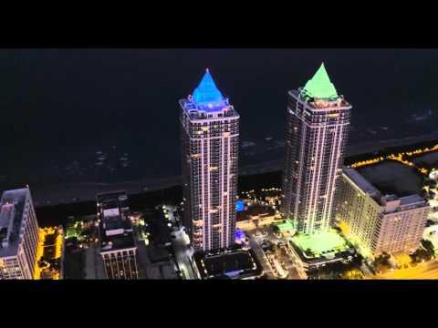 Blue & Green Diamond Miami Beach (DJI Inspire Pro)