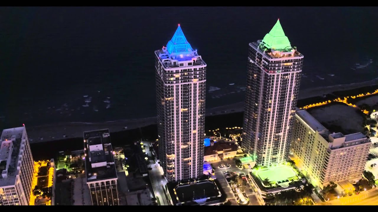 Dji Phantom 3 Professional >> Blue & Green Diamond Miami Beach (DJI Inspire Pro) - YouTube