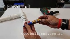 Balloon Confetti Applicator Construction