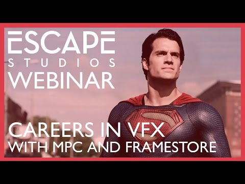 Careers in VFX with MPC and Framestore