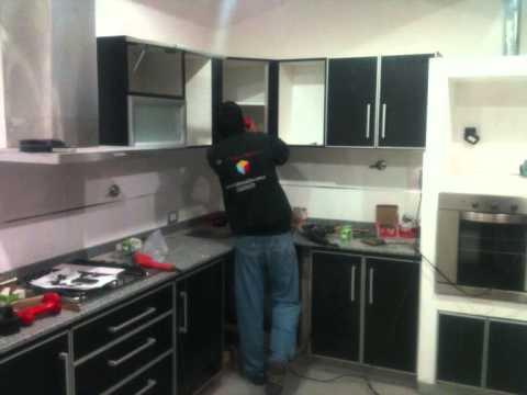 Prado muebles obra norma y ricardo youtube - Como hacer muebles de cocina ...