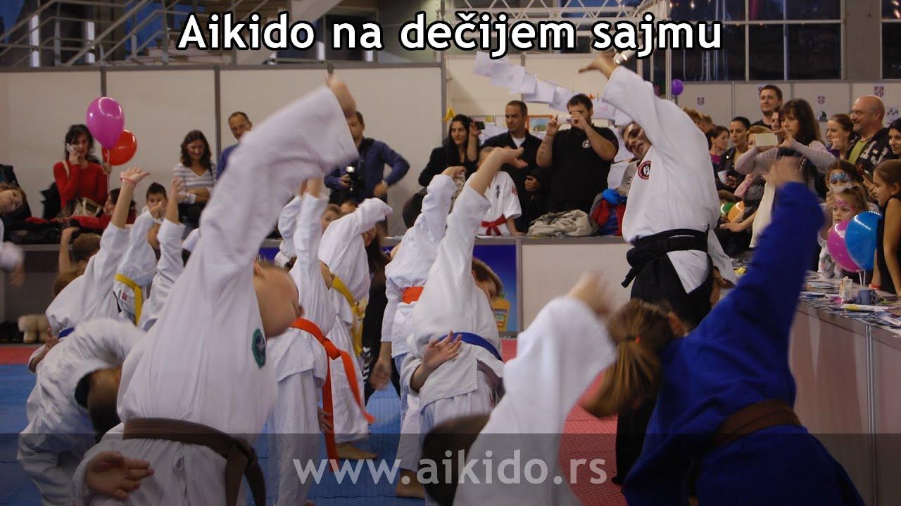 Internacionalna aikido akademija na dečijem sajmu