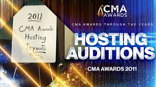 CMA Awards hosting auditions is serious business! |  CMA Awards 2011 | CMA