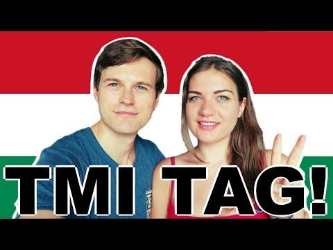 SPEAKING HUNGARIAN PART 16 🇭🇺TMI TAG!