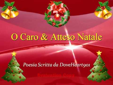 ★ Poesia sul Natale (Versi Poetici Personali, Frasi, Musica, Video) -