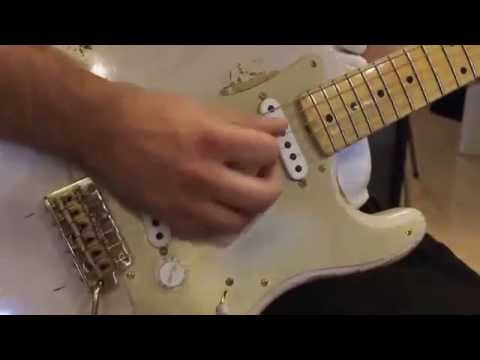 Teamusica Fender CS 2014 Limited Edition Golden '50s 1954