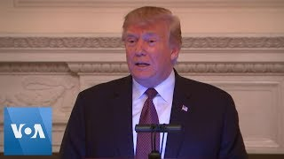 President Donald Trump Participates in White House Iftar Dinner