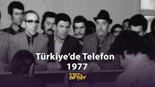 1970'lerde Türkiye'de Telefon