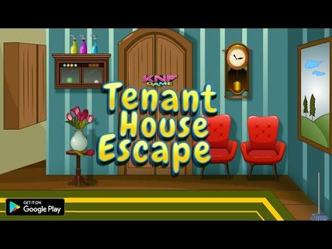 Knf Lovely Living Room Escape Walkthrough Dark Flooring Tenant House Youtube