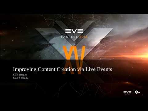 EVE Fanfest 2018 Improving Content Creation via Live Events